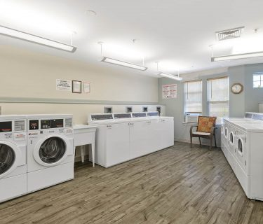 The Maples laundry facilities